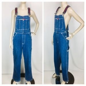 VTG 90's Tommy Hilfiger Spellout Straps Overalls